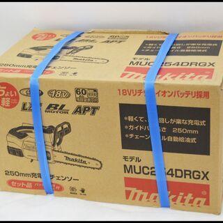 未使用 マキタ 18V 6.0Ah 充電式チェンソー MUC25...
