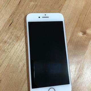 iphone8 64gb  goldpink中古