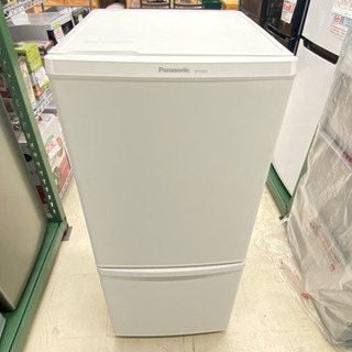 '18 Panasonic 2ドア冷凍庫 ホワイト NR-…
