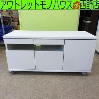 TV台 テレビ台 白 幅88.5cm ホワイト コンパクト 札幌...