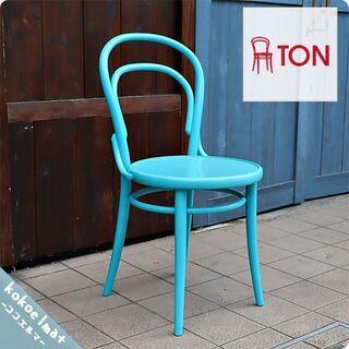 TON(トン)のNo.14 ベントウッドチェア/ライトブルーです...