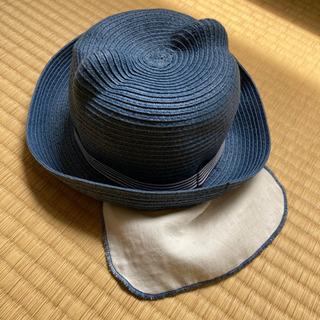 くまさん麦わら帽子(ダークブルー) - 福岡市