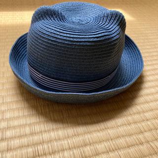 くまさん麦わら帽子(ダークブルー)