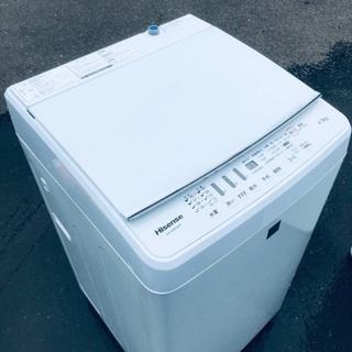 ♦️EJ809B Hisense全自動電気洗濯機 【2016年製】
