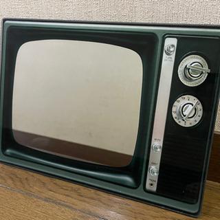 レトロテレビ形鏡