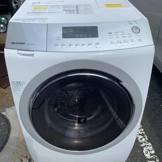 ドラム式洗濯機 2015年 シャープ 乾燥機能使えない