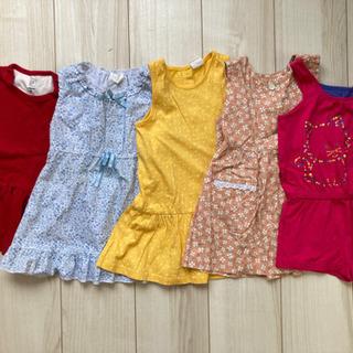 子供服 80〜86サイズ×5枚 ワンピース