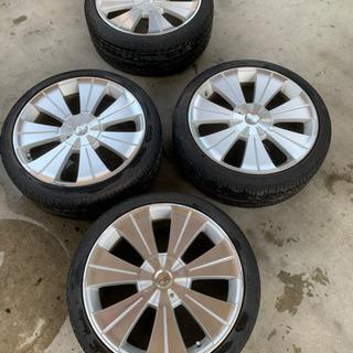 ロクサーニLOXARNY 215/40ZR18 中古タイヤホイルセット