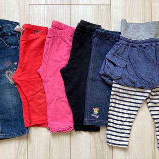 子供服 パンツ×6枚 サイズ80〜86
