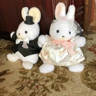 うさぎの新郎新婦 結婚式 ウェディング
