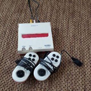 ファミコン本体+カセットのセット