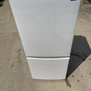 SHARP 137L ノンフロン冷凍冷蔵庫 SJ-D14D…