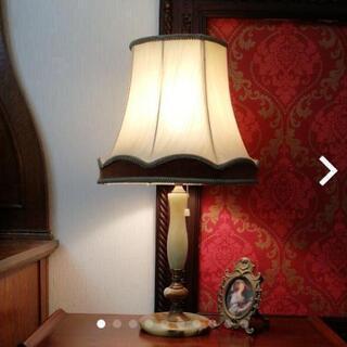 大理石テーブルランプ スタンドランプ