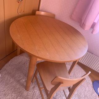 【ネット決済】ダイニングテーブル 椅子セット