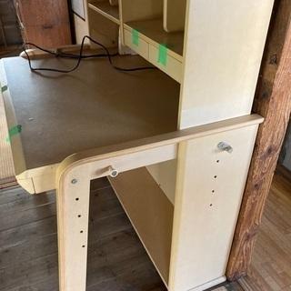 学習机(椅子有り/キャビネット有り)