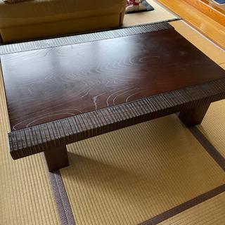 値下げ!!【欅(けやき)のテーブル】大塚家具