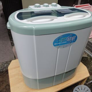 2槽式小型洗濯機「晴晴」【中古品】の画像