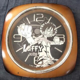 ONEPIECE LUFFY 掛け時計 約40cm