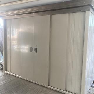 Daiken 倉庫 物置 約280×210cm 棚付き 鍵付き