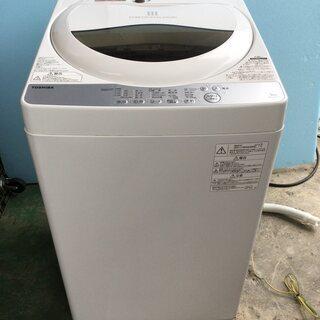 東芝 TOSHIBA 全自動洗濯機 AW-5G6 5.0kg 2...