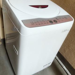【ネット決済】シャープ 全自動洗濯機 6Kg  ES-GE60L