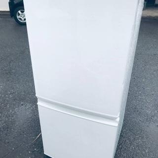 ♦️EJ837B SHARPノンフロン冷凍冷蔵庫 【2017年製】
