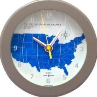 ➐トラディションアコースティック 掛け時計 グレー