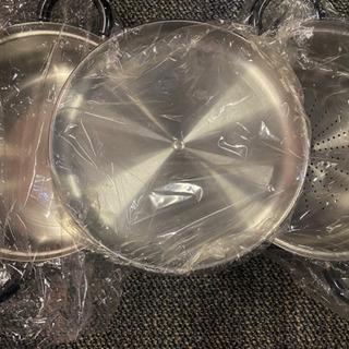 蒸し器セット鍋