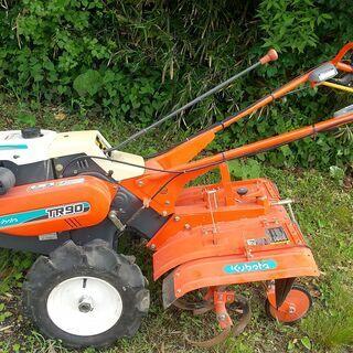 耕運機 実働確認済み #畑 #トラクター #畝