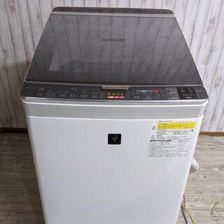 SHARP シャープ 電気洗濯乾燥機 10kg 大容量 2017...