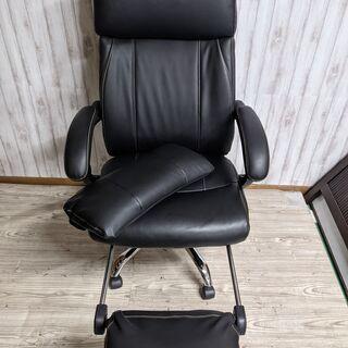 ニトリ NITORI ワークチェア ハイバック デスク 椅子 ブ...