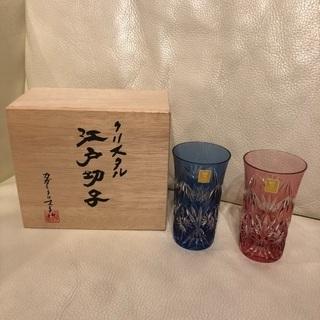 カガミクリスタル江戸切子高級グラスセット