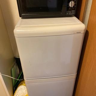 TOSHIBA アイリスオーヤマ 冷蔵庫 電子レンジ あげます