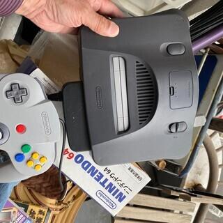 ニンテンドー 64 ゲーム付き