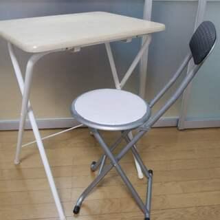折り畳みテーブル・椅子 セット