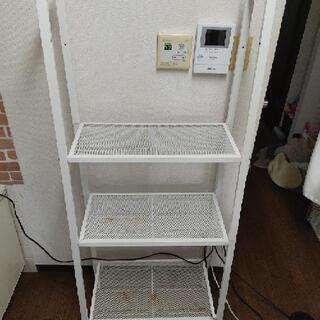 IKEA 3段ラック 白