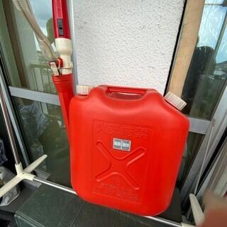 赤 電動ポンプ付き