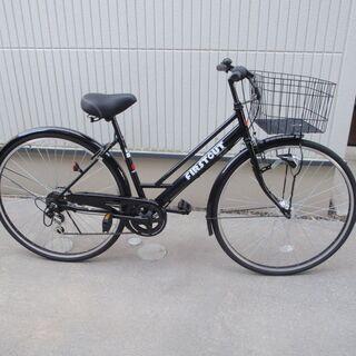 自転車 27インチ 外装6段 ほぼ新品