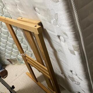 IKEA 木製 シングルベットフレーム