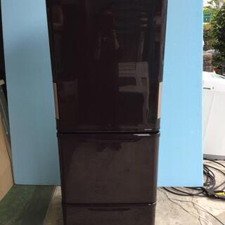 SHARP シャープ ノンフロン冷凍冷蔵庫 350L 3ドア S...