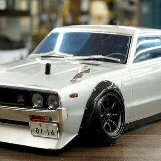 札幌 引き取り 現状品 スカイライン GTR ラジコン ボディ ...