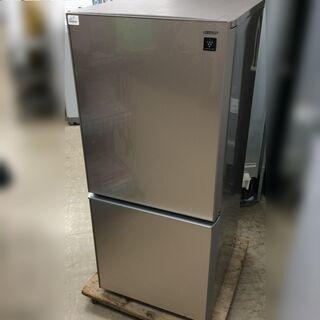 J553 6か月保証付き! SHARP シャープ ノンフロン冷凍...