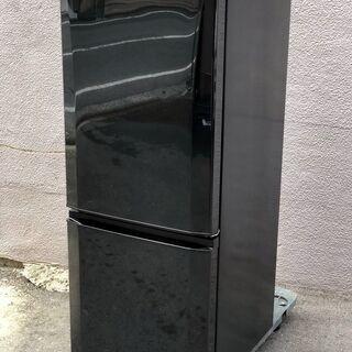 ㉔【6ヶ月保証付・税込み】美品 三菱 146L 2ドア冷蔵庫 M...