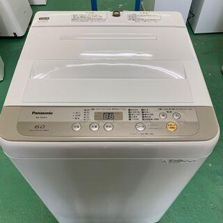 ★美品★パナソニック 洗濯機 6kg NA-F60B11 201...