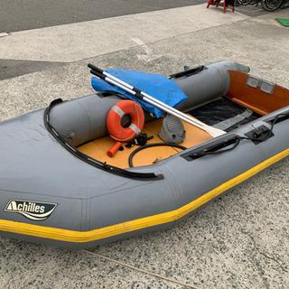 ☆中古品 アキレス ゴムボート(小型船舶用膨張式ゴムボート…