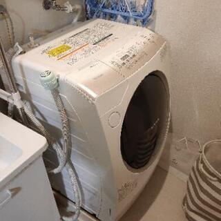東芝ドラム式洗濯機、洗濯9kg、乾燥6kg
