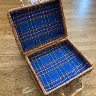 【ネット決済】ピクニックにもお出掛けにも!かごバッグ バスケット...