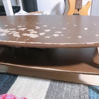 ローテーブル ニトリ商品 傷あり