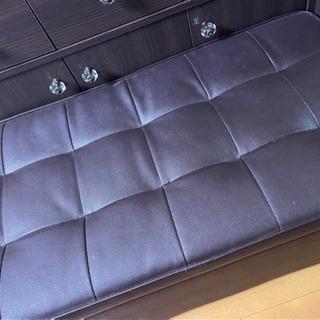 【ネット決済】椅子 収納たっぷり オットマン