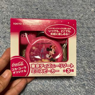 新品・未使用 コカコーラ 東京ディズニーリゾートミニスピーカー